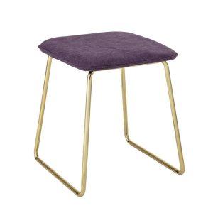 Cajsa lila arany szék