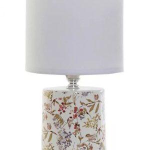 Floral birdy kerámia asztali lámpa