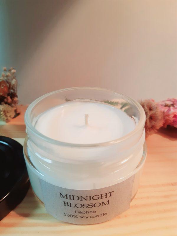 Midnight Blossom szójaviasz gyerty1