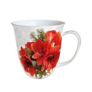 Amaryllis porcelánbögre 0.4L