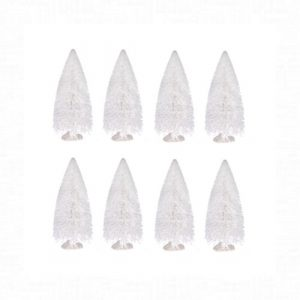 Fehér fenyő dekoráció 8 darabos