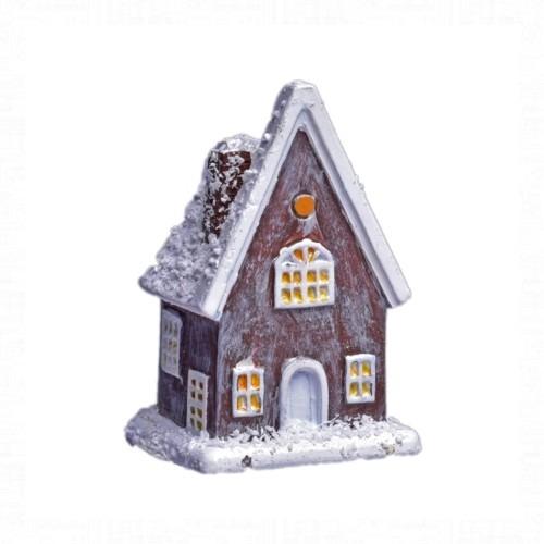 Havas barna házikó 5x3 cm