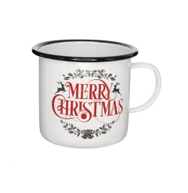 Karácsonyi Bögre klasszikus Merry Christmas felirattal