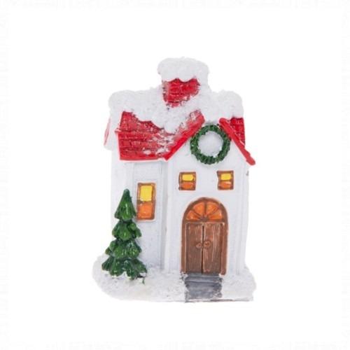 Karácsonyi házikó 4.6x3.7x7 cm
