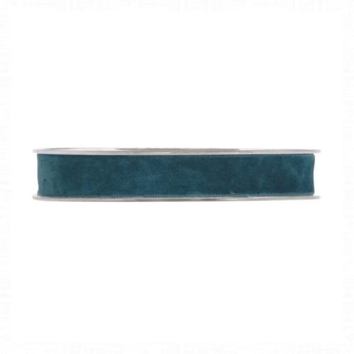 Kék bársonyszalag 7m