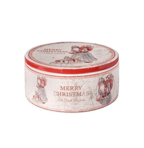 Merry Christmas and Best Wishes kerámiadoboz 20x9cm