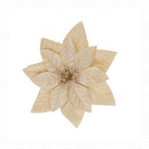 Mikulásvirág pezsgő csipeszes 16 cm