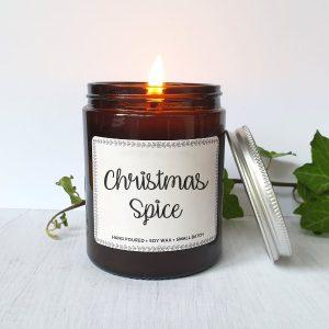 Christmas spice szójagyertya