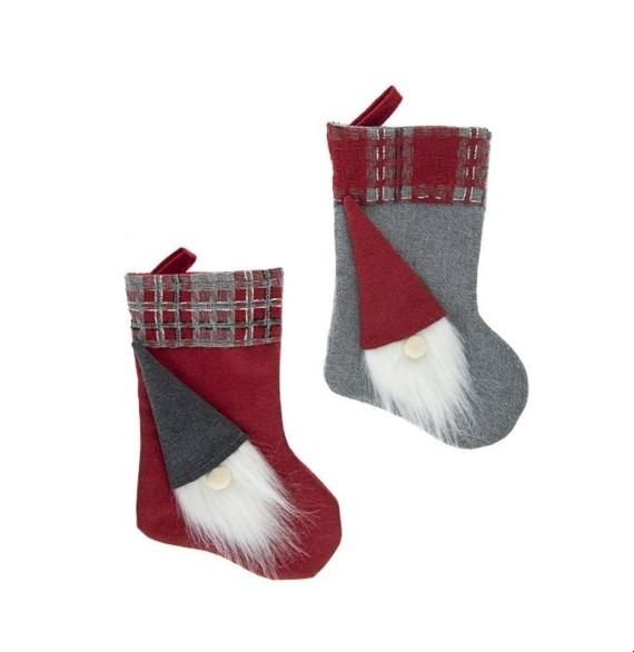 Kandalló zokni manóval 2 darabos