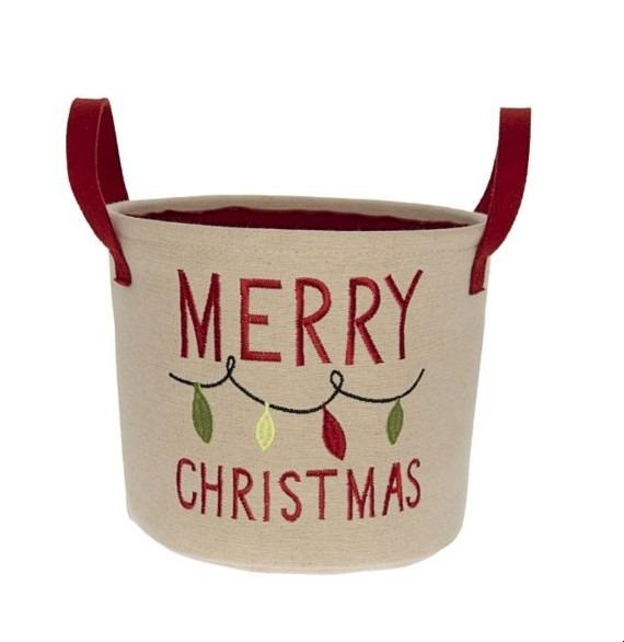 Merry Christmas kosár