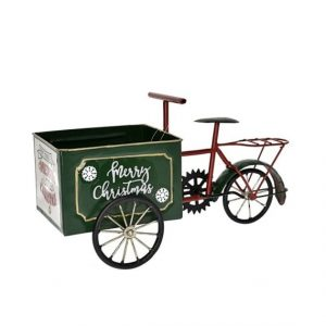 Merry Christmas tricikli tárolóval
