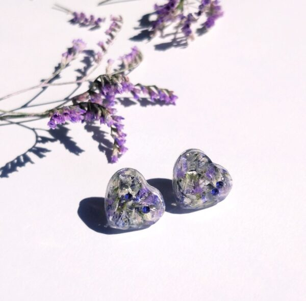 PurplexSwarovski fülbevaló