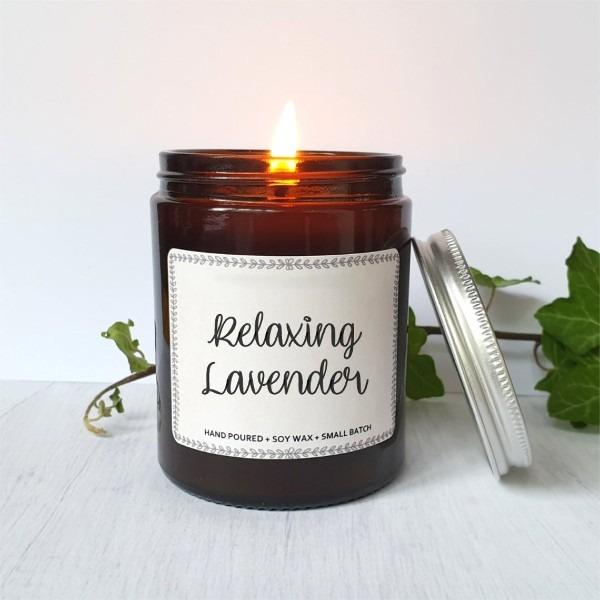 Relaxing Lavender szójagyertya